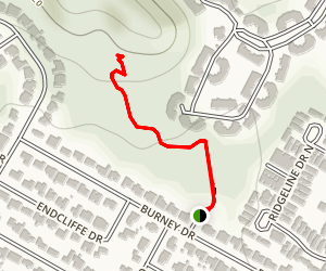 Stillhouse Hollow Trail Map