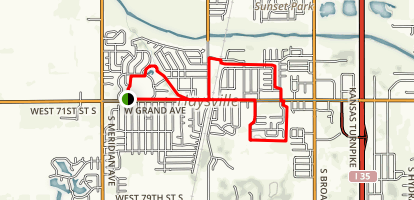 Haysville Bike Path Map