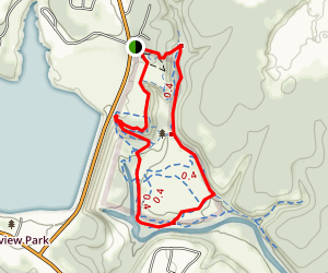 Miller Springs Nature Center Trail Map