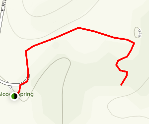 Alcove Springs Map