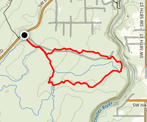 Maston Trail Map