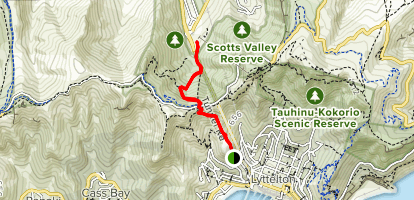 Bridle Path Track Map