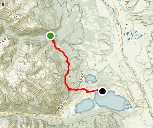 Colorado Trail: Mount Elbert Trailhead to Twin Lakes Map
