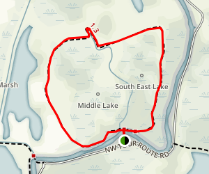 Kiwa Trail Map