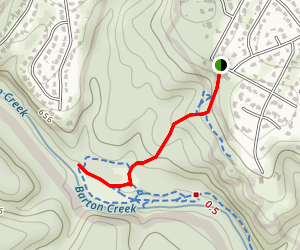 Barton Creek Greenway- Hill of Life Map