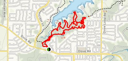 Lake Grapevine Horseshoe Trail Map