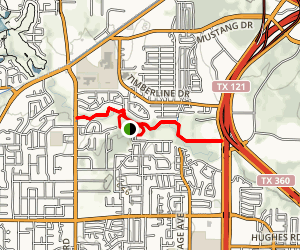 Bear Creek Trail via Parr Park Map