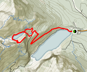 The Big Beehive Trail Map