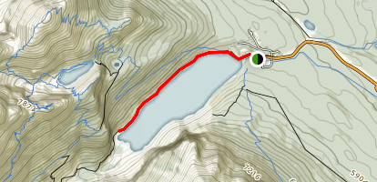 Lake Louise Trail Map