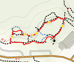 Kinnikinnik Nature Loop Map