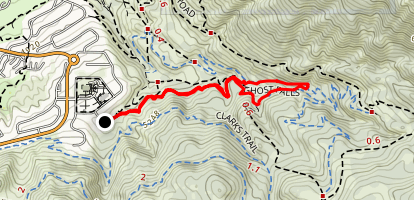 Ghost Falls Trail Map