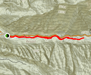 Little Cottonwood Trail Map