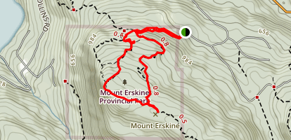 Mount Erskine Loop Map