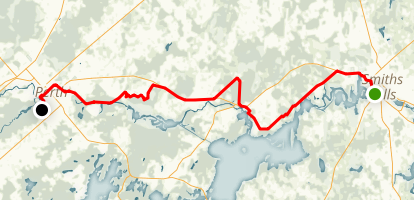 Rideau Trail: Section 8 - Smiths Falls to Perth Map