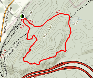 Cardiac Loop Trail Map