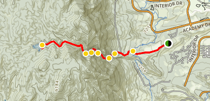 Stanley Canyon Trail Map