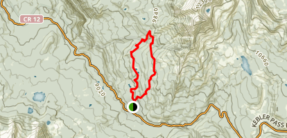 Dark Canyon Trail Map