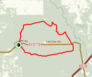 Croom Tract - A-B Loop Map