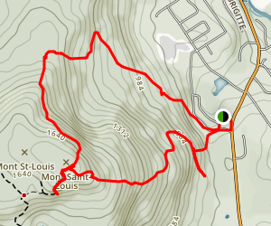 Mont Saint-Louis Loop Map