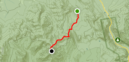 Appalachian Trail: Zealand Trail to Guyot Shelter Map