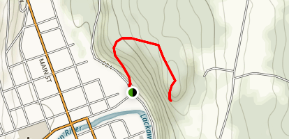 Irving Cliff Map
