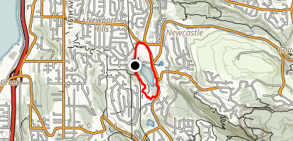 Lake Boren Loop Map