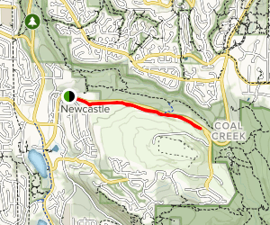 Newcastle Golf Course Trail Map