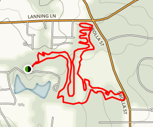 Lion's Club Mountain Bike Trail Map