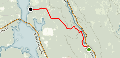 Dolby Trail: Medway Map