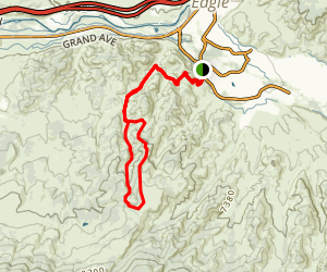 Hocket Gulch Loop Map