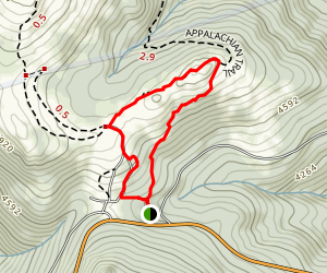 Massie Gap and Wilburn Ridge Loop Map