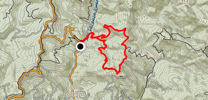Michael's Summit Loop Map