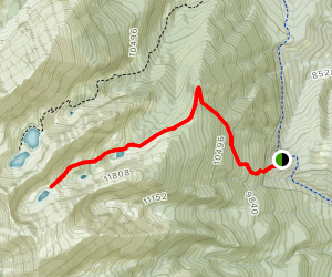Bushnell Lakes Trail Map