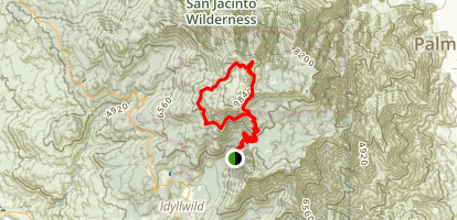 San Jacinto Loop Map