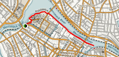 Lowell Riverwalk Map