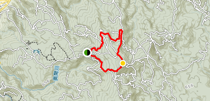 Mount Yonaha Trail Map