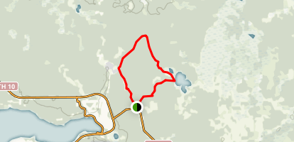 Kinosao Lake Trail Map