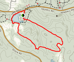 Kendall Lake Cross Country Trail Map