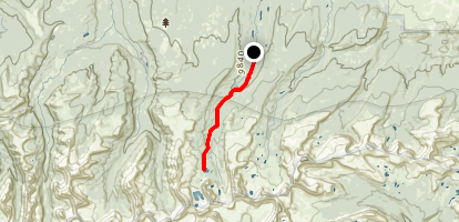 Lower Red Castle Lakes Trail Map