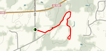 Horse Trail Loop Map