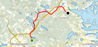 Adventure Trail Map