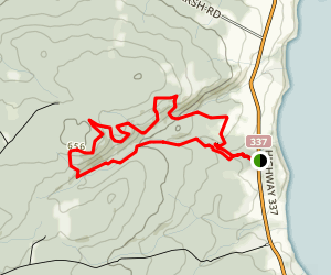 Cape George Trails Map