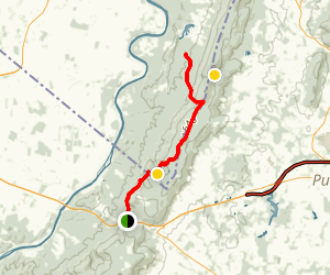 AT: Snickers Gap Map