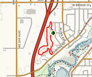 Leo Rudolph Nature Reserve Map