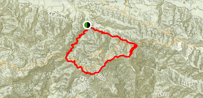 Angeles Crest Loop Map