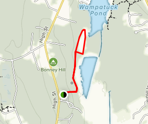 Plymouth County Hospital Meadows Trail Map