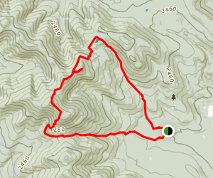 Mount Cabot Loop (Bulge and Horn) Map