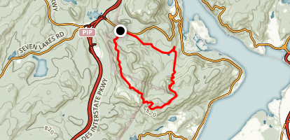 Bald Mountain Loop Map