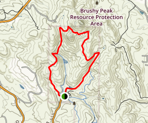 Brushy Peak Preserve Trail Map