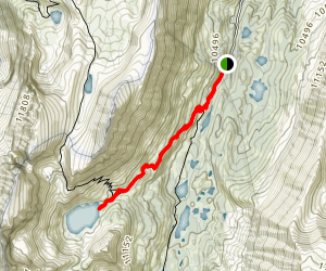 Ruby Lake Trail Map